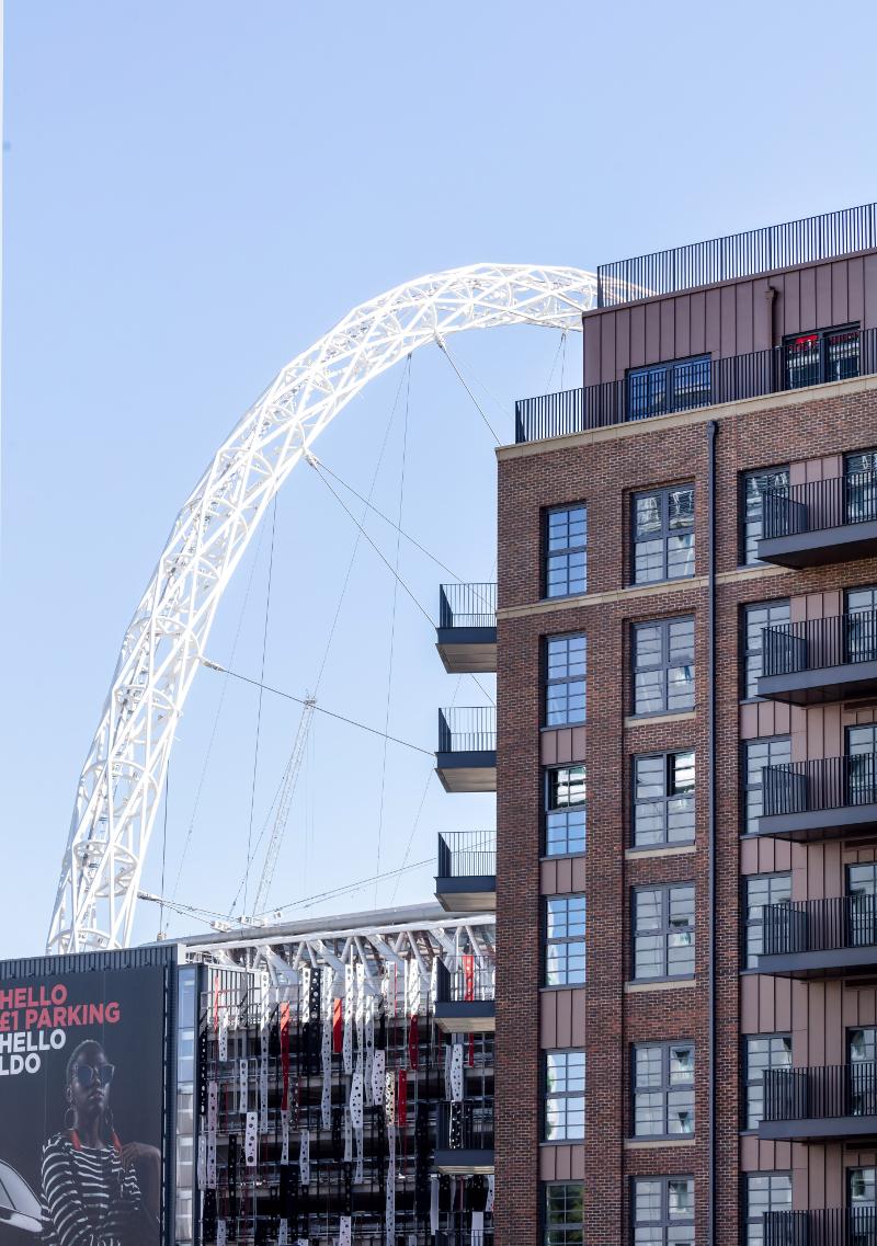 Build To Rent Scheme at Wembley Park completes